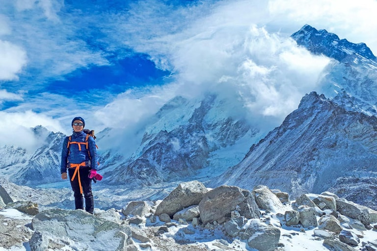 Everest Base Camp in Nepal in best hiking trails in asia